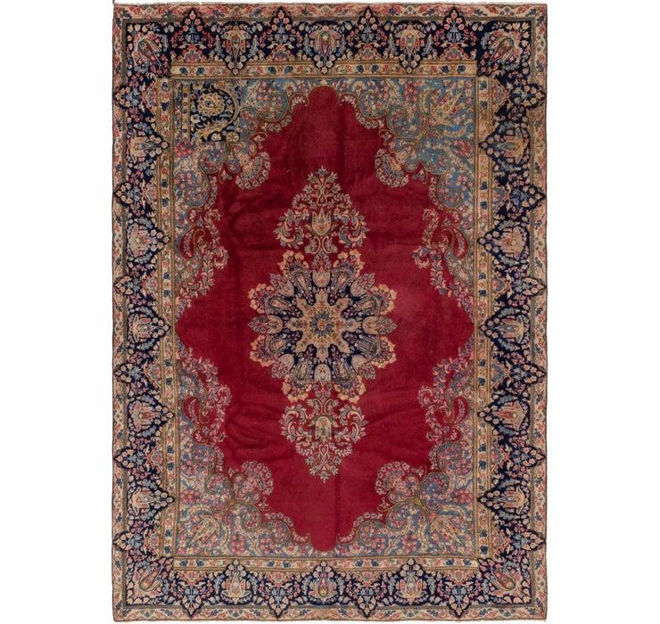213cm x 312cm Kerman Persian Rug