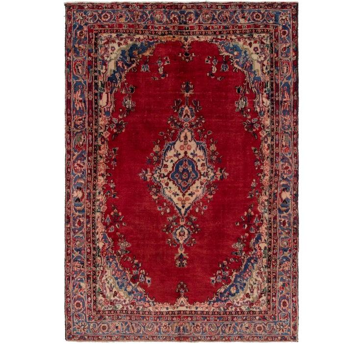 6' 4 x 9' Shahrbaft Persian Rug