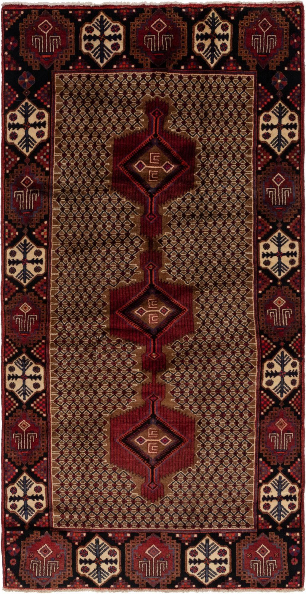 5' x 10' 3 Koliaei Persian Runner Rug main image