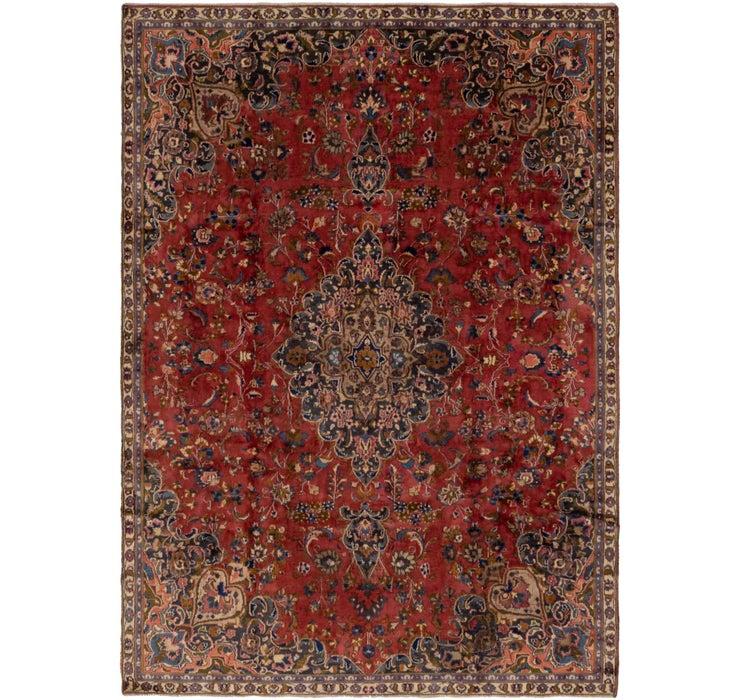 7' 5 x 10' 3 Mashad Persian Rug