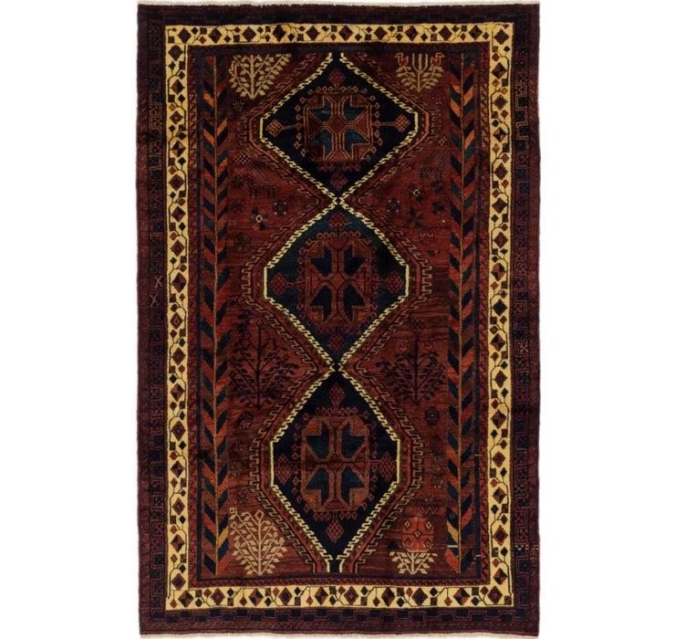 5' 4 x 8' 4 Ghashghaei Persian Rug