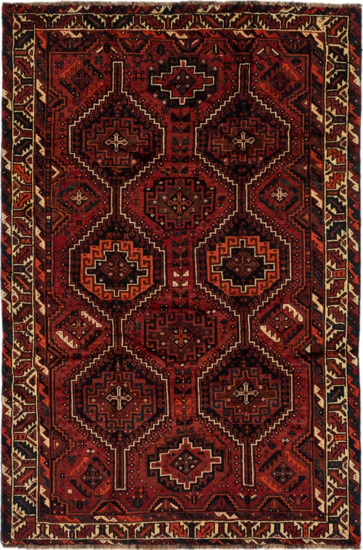 5' 9 x 8' 8 Ghashghaei Persian Rug main image