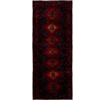 Image of 4' x 10' Chenar Persian Runner Rug