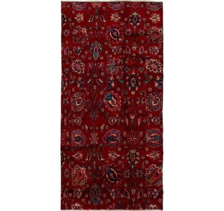 140cm x 287cm Tabriz Persian Rug