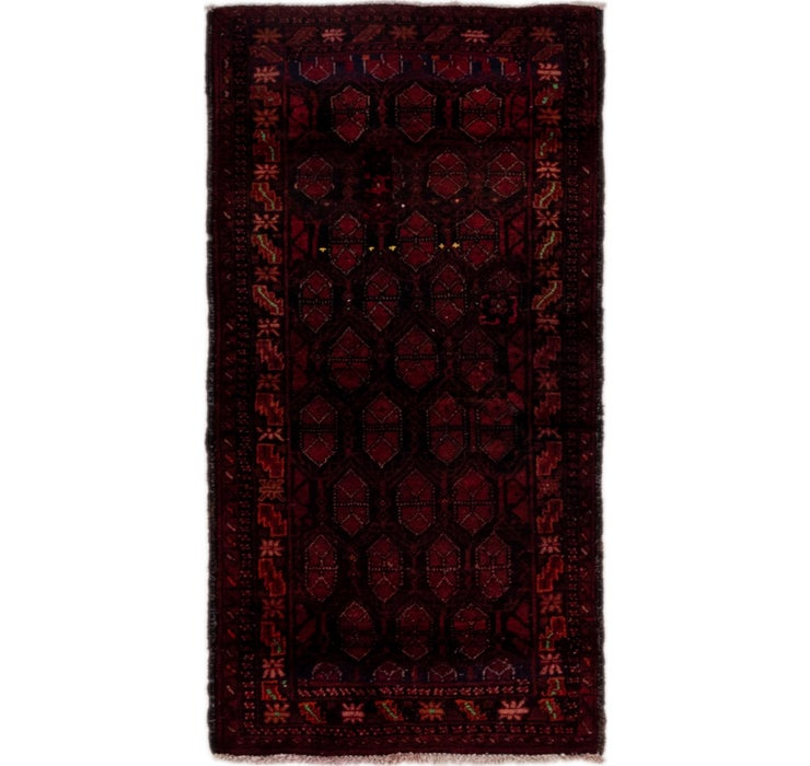 2' 8 x 5' 2 Balouch Persian Rug