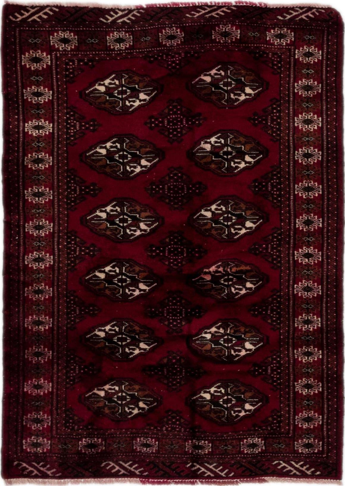 3' 4 x 4' 8 Torkaman Persian Rug main image