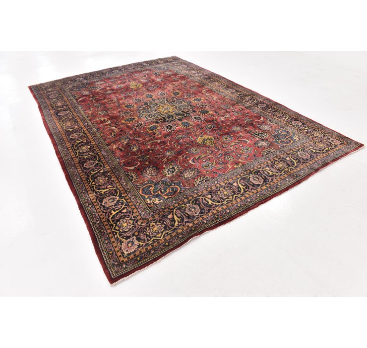 8' x 11' 2 Sarough Persian Rug