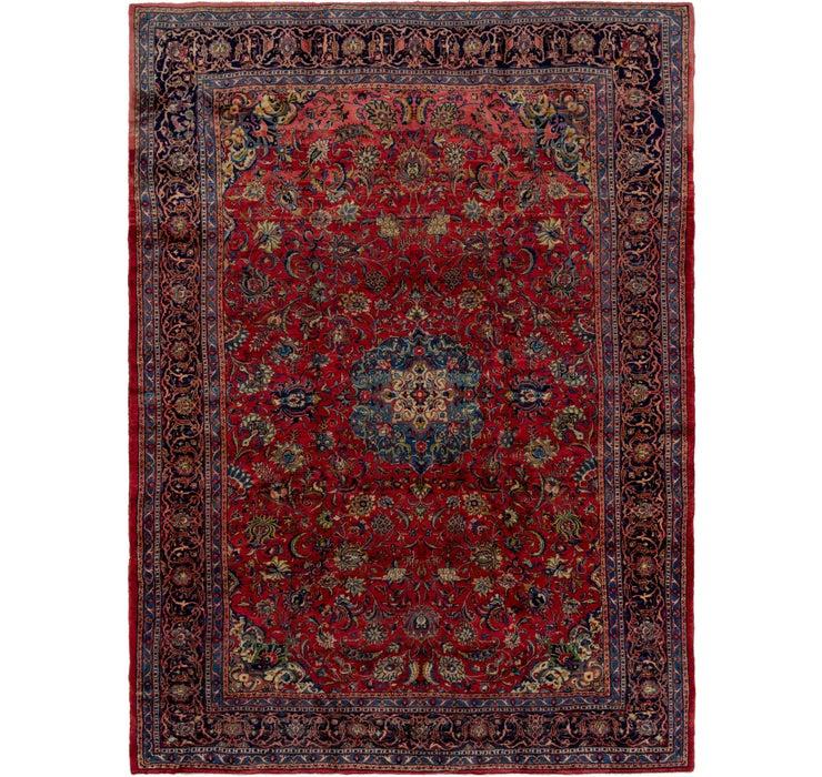 9' 9 x 13' 9 Sarough Persian Rug