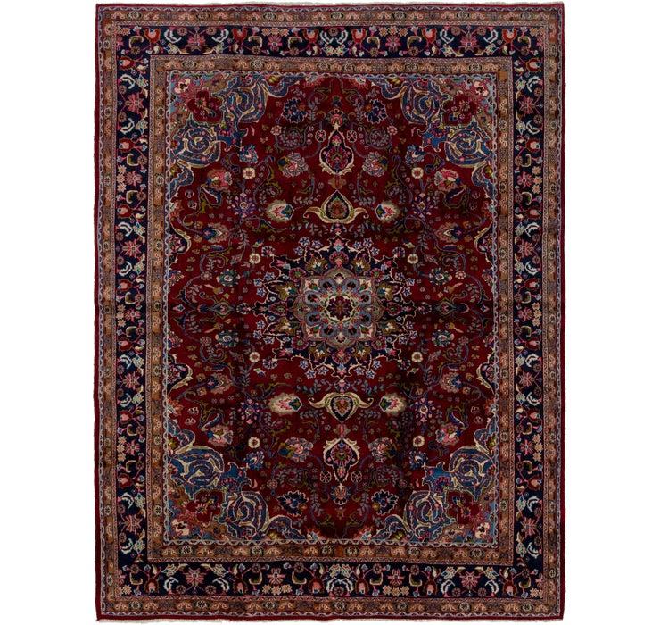 285cm x 380cm Mashad Persian Rug