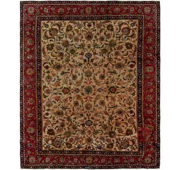 Image of 9' 1 x 11' 9 Tabriz Persian Rug
