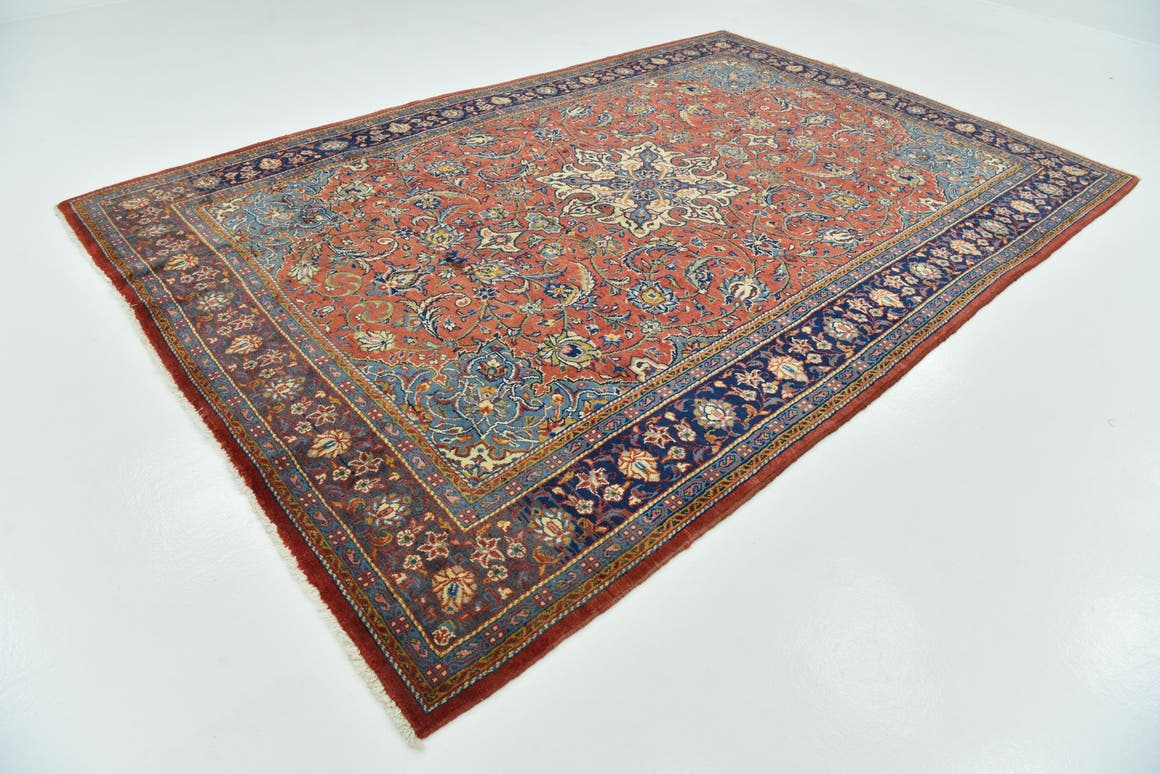 7' 9 x 11' 5 Sarough Persian Rug main image