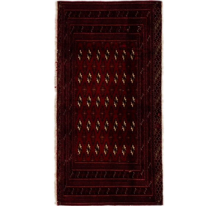 2' 5 x 4' 8 Torkaman Persian Rug