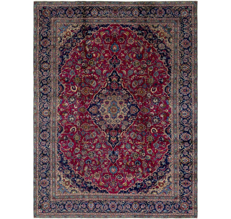282cm x 378cm Kashan Persian Rug