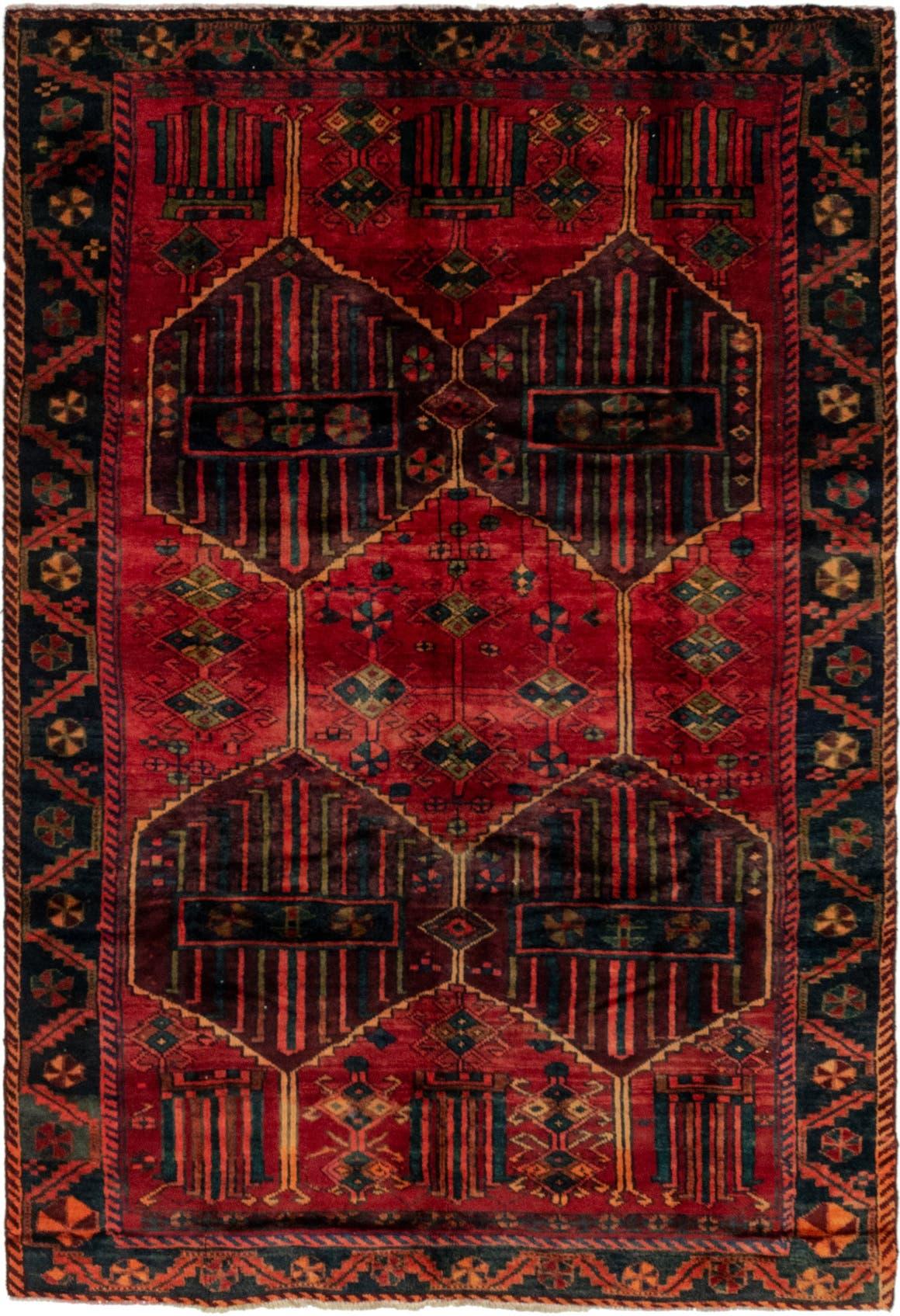 6' x 9' 3 Shiraz Persian Rug main image