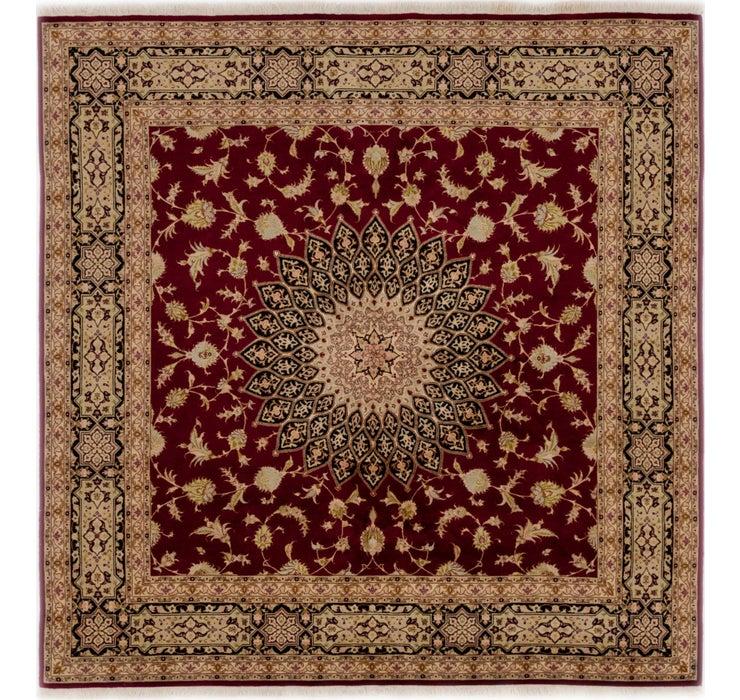 6' 8 x 6' 9 Tabriz Persian Square Rug