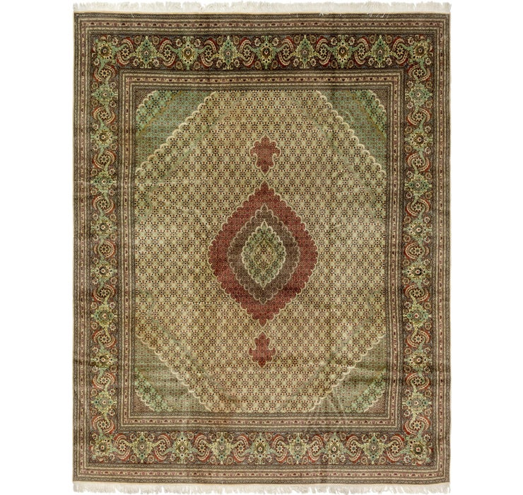 Image of 10' x 12' 10 Tabriz Persian Rug