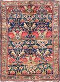 4' x 5' 8 Meshkabad Persian Rug thumbnail