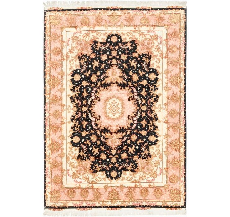 6' 7 x 9' 7 Tabriz Persian Rug