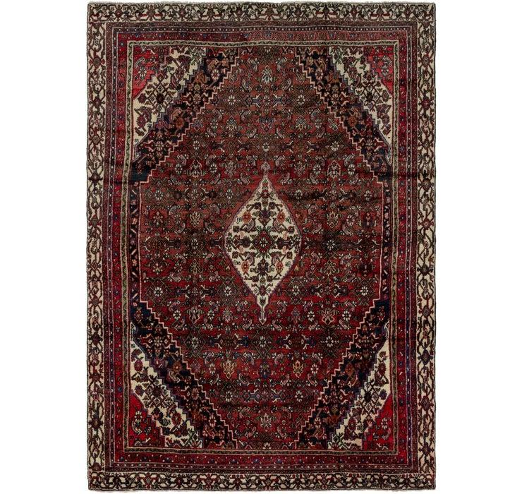 7' 10 x 11' Hamedan Persian Rug