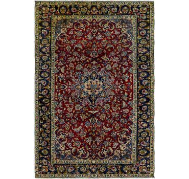 Image of 7' x 10' 9 Isfahan Persian Rug