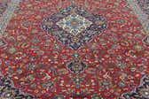 9' 6 x 13' 5 Kashan Persian Rug thumbnail