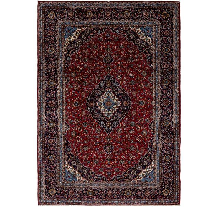 290cm x 410cm Kashan Persian Rug