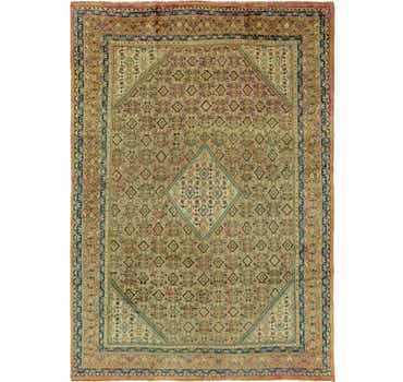 Image of 9' 9 x 13' 9 Farahan Persian Rug