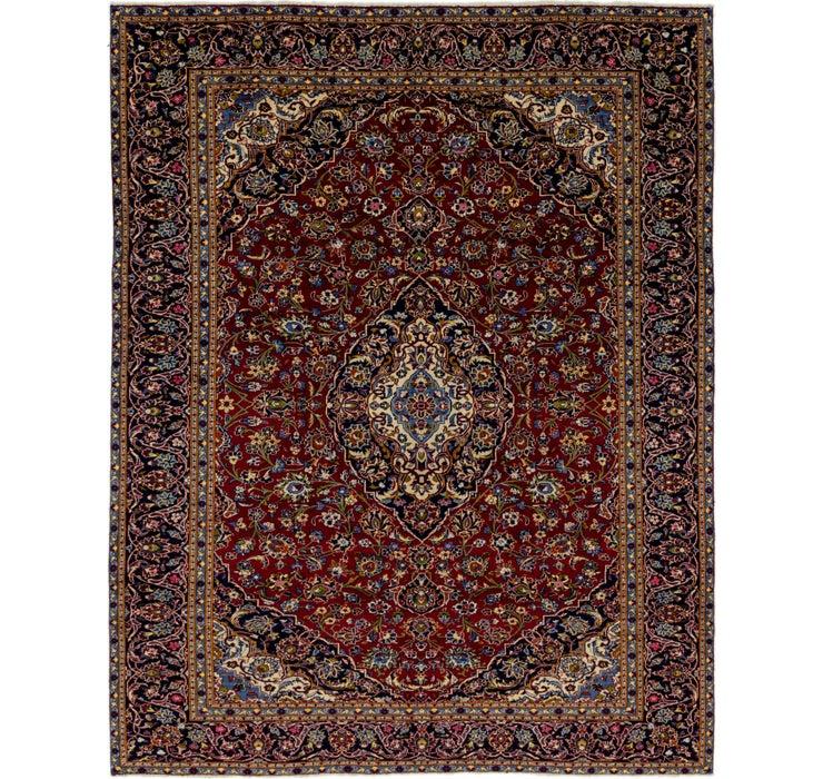 9' 5 x 12' 5 Kashan Persian Rug