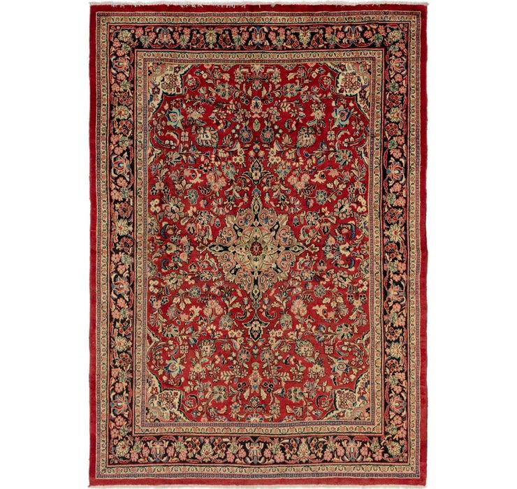 265cm x 385cm Meshkabad Persian Rug
