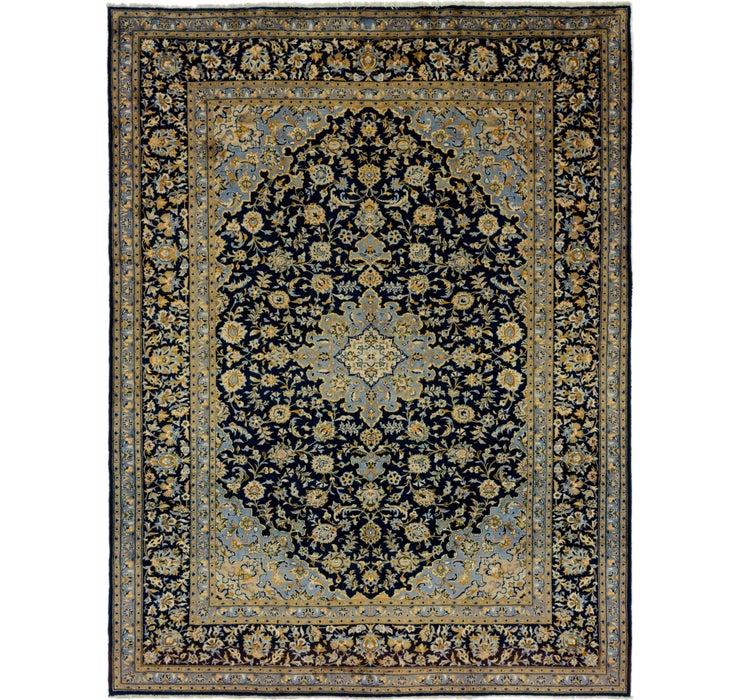 10' x 13' 2 Kashan Persian Rug