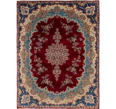 Image of 9' 10 x 13' Yazd Persian Rug
