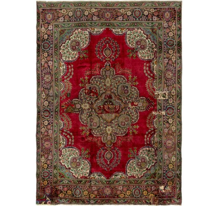 7' 6 x 10' 7 Tabriz Persian Rug