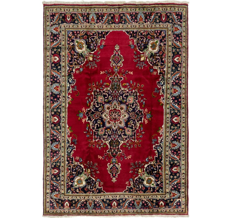 7' 8 x 11' 6 Tabriz Persian Rug