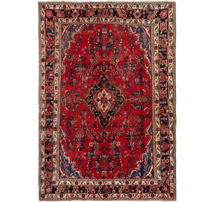 6' 9 x 9' 6 Shahrbaft Persian Rug
