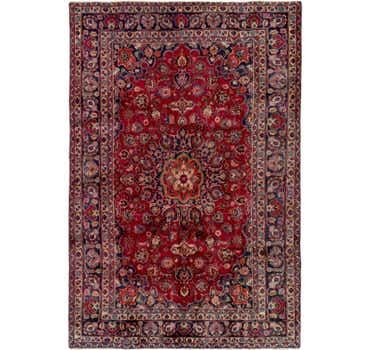 8' 2 x 9' 5 Mashad Persian Rug