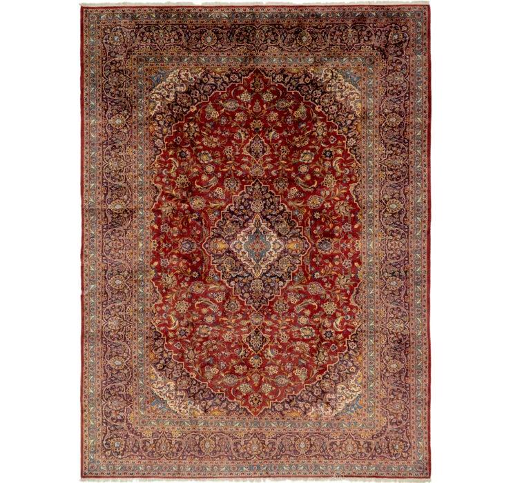295cm x 395cm Kashan Persian Rug