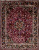 10' 2 x 13' Mashad Persian Rug thumbnail