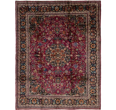 10' 2 x 13' Mashad Persian Rug main image