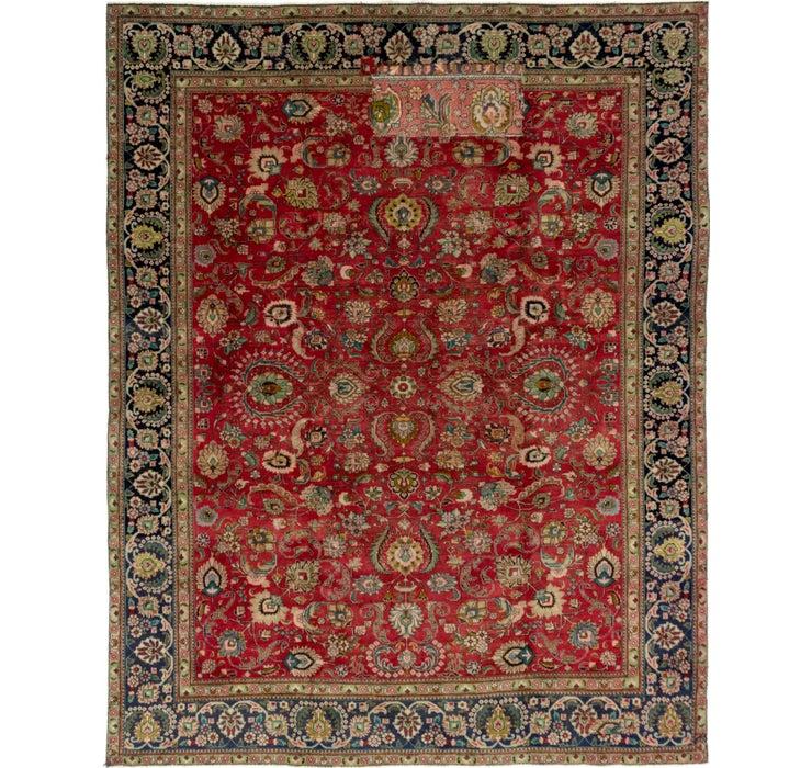 9' x 11' 7 Tabriz Persian Rug