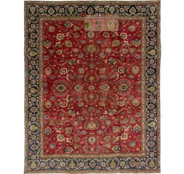 9' x 11' 7 Tabriz Persian Rug main image