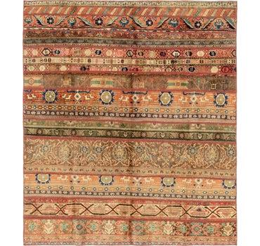 6' 5 x 7' 3 Patchwork Persian Rug main image