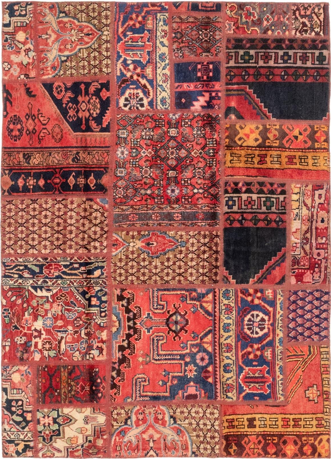 Patchwork Persian Rug