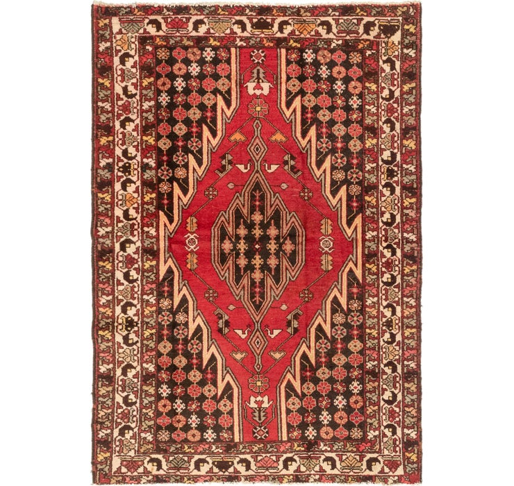 130cm x 188cm Mazlaghan Persian Rug
