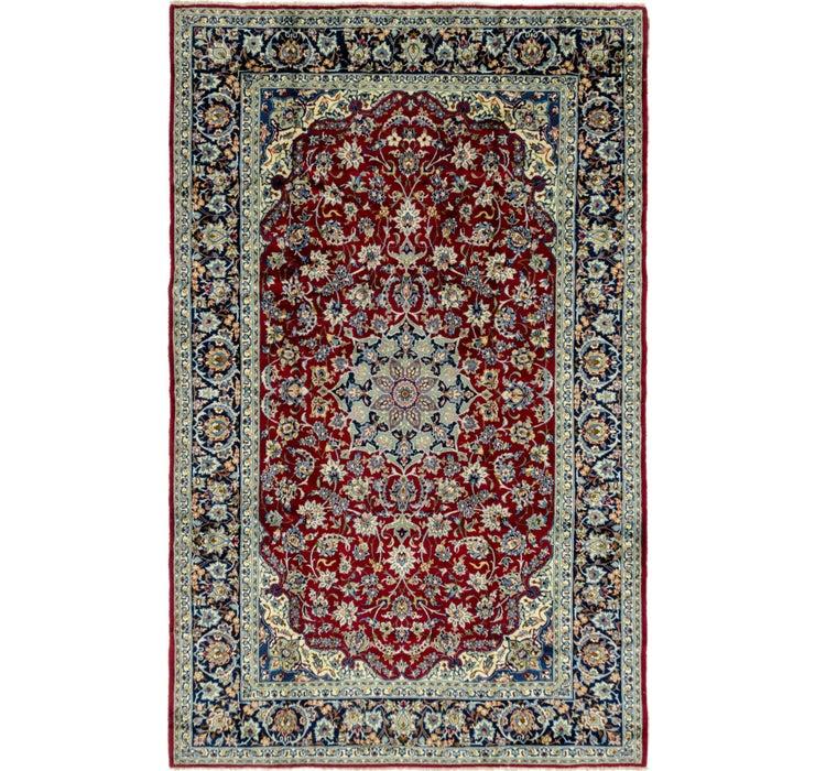 260cm x 410cm Isfahan Persian Rug