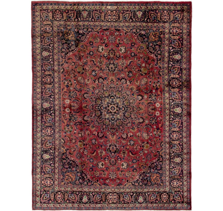 250cm x 338cm Mashad Persian Rug
