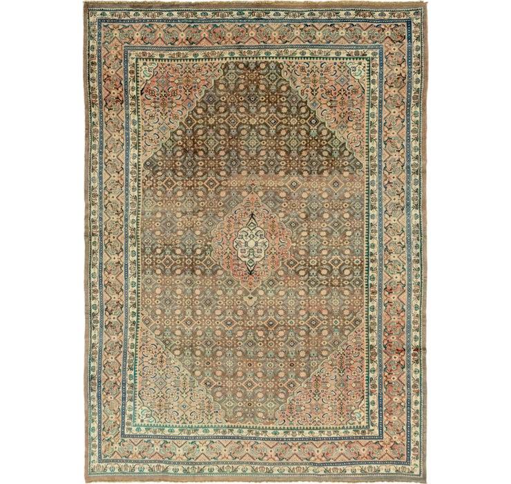 9' 8 x 13' 4 Farahan Persian Rug