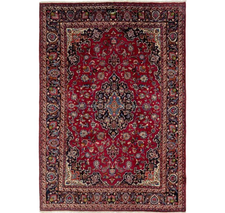 257cm x 358cm Mashad Persian Rug