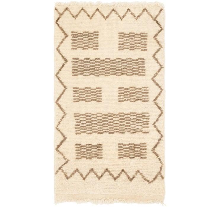 1' 9 x 3' 3 Moroccan Rug