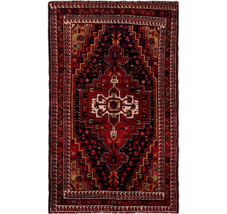 4' 5 x 7' 3 Tuiserkan Persian Rug