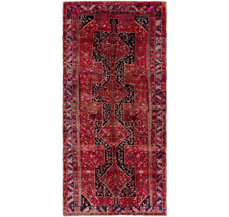 5' 4 x 11' Gholtogh Persian Runner...